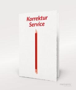 Produktbild Korrektur-Service