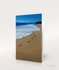 Produktbild Sterbebild Spuren im Sand